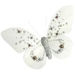 Pinza Mariposa Perlas