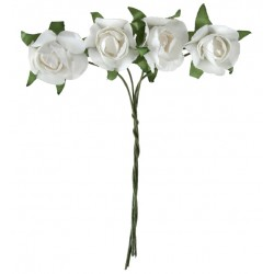 Ramo 4 Rosas Papel