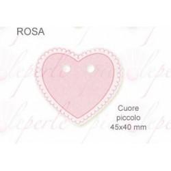 Chiudipacco Cuore Rosa