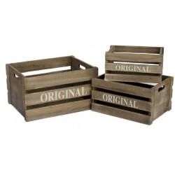 Caja Madera Original