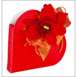 Caja Corazón Rojo