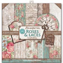 Colección Scrap Rose & Laces