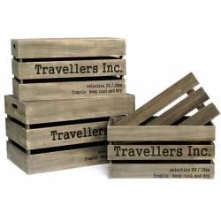 Caja Madera Travellers
