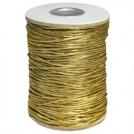 Bobina de Cordón Metalizado 1,5 mm.x100 m.