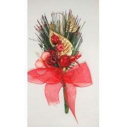 Pick Navidad Lazo Rojo