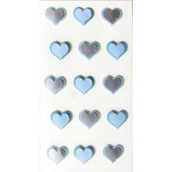 Sticker Corazón Azul